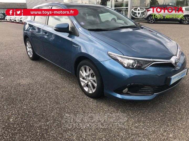 Toyota AURIS HSD 136h Design BLEU DENIM Occasion - 4