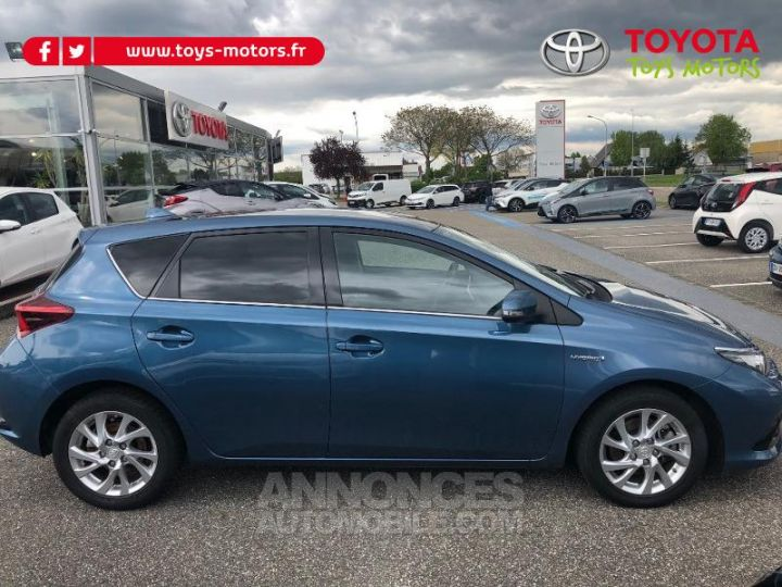 Toyota AURIS HSD 136h Design BLEU DENIM Occasion - 5
