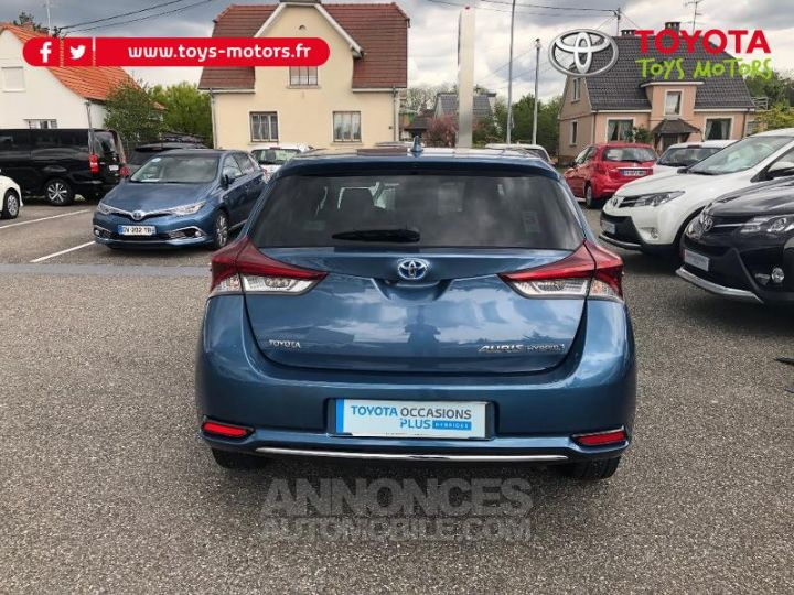 Toyota AURIS HSD 136h Design BLEU DENIM Occasion - 7