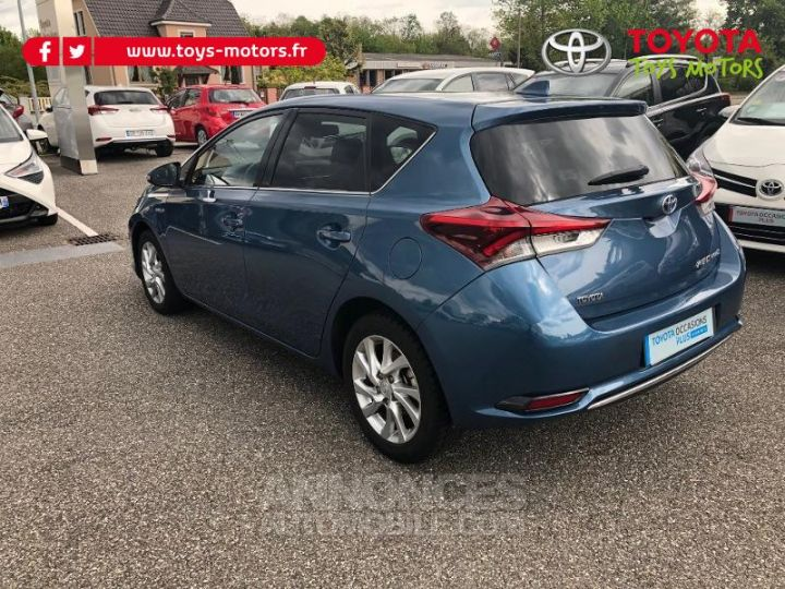 Toyota AURIS HSD 136h Design BLEU DENIM Occasion - 8