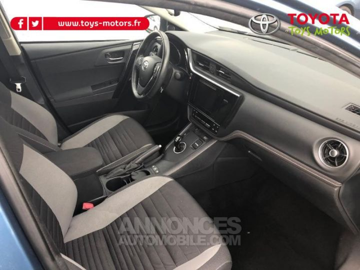 Toyota AURIS HSD 136h Design BLEU DENIM Occasion - 11
