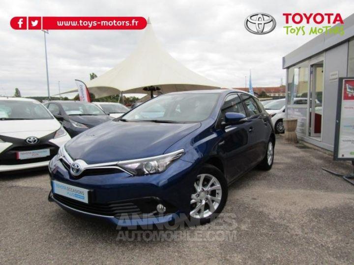 Toyota AURIS HSD 136h Dynamic Bleu Clair Occasion - 1