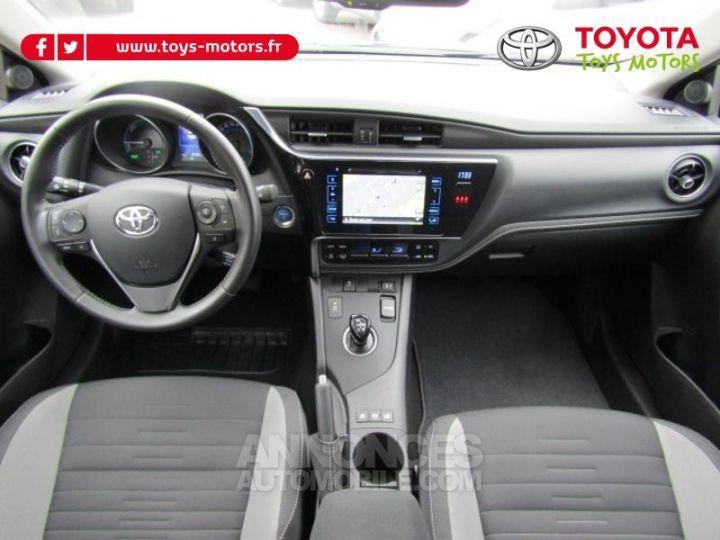 Toyota AURIS HSD 136h Dynamic Bleu Clair Occasion - 3