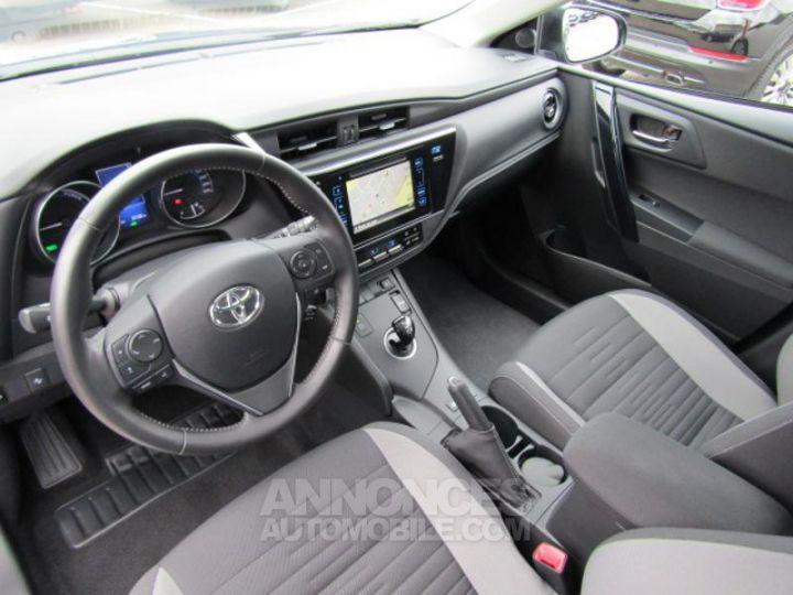 Toyota AURIS HSD 136h Dynamic Bleu Clair Occasion - 10