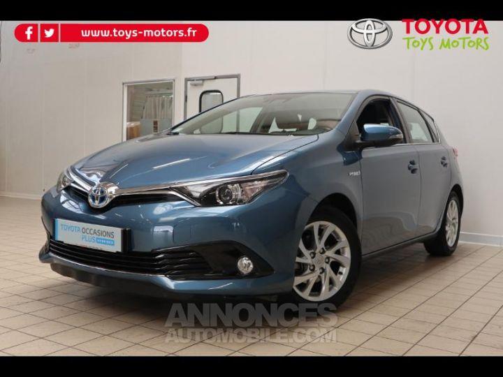 Toyota AURIS HSD 136h Dynamic bleu denim Occasion - 1