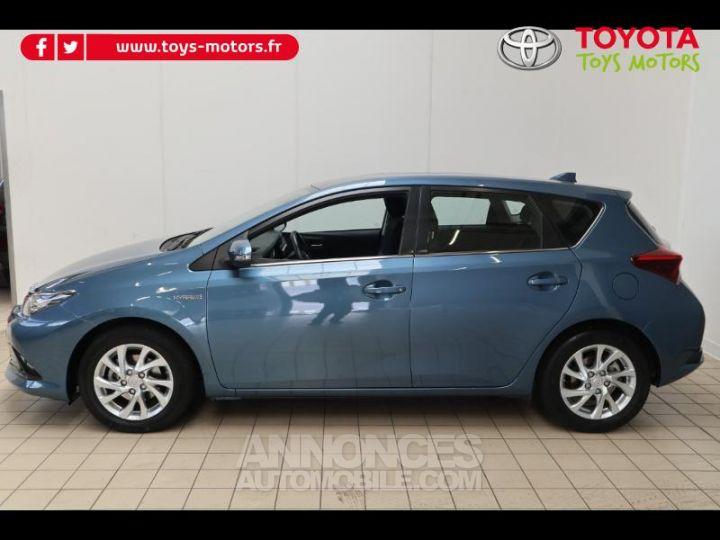 Toyota AURIS HSD 136h Dynamic bleu denim Occasion - 4