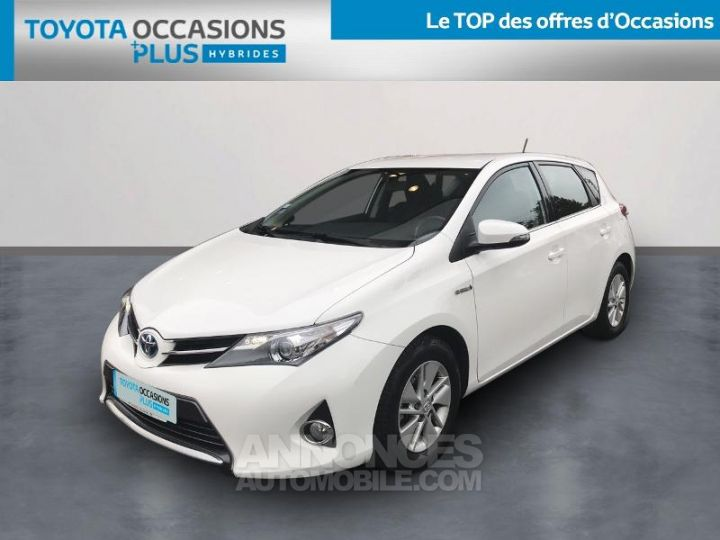 Toyota AURIS HSD 136h Dynamic Blanc Pur Occasion - 1