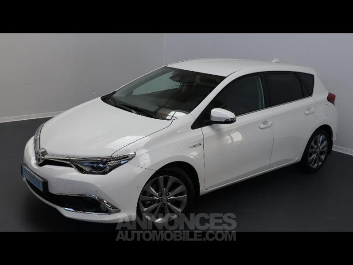 Toyota AURIS HSD 136h Executive BLANC Occasion - 1