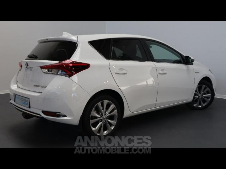Toyota AURIS HSD 136h Executive BLANC Occasion - 13