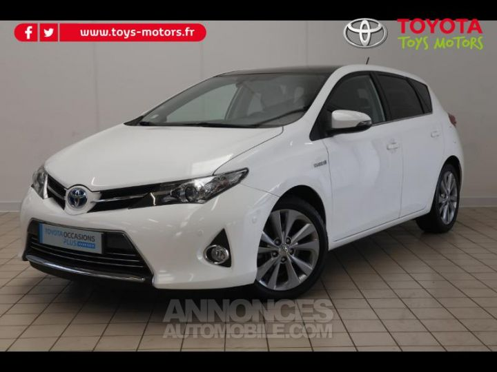 Toyota AURIS HSD 136h Style BLANC PUR Occasion - 1