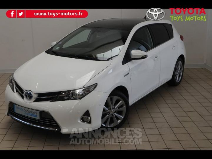 Toyota AURIS HSD 136h Style BLANC PUR Occasion - 3