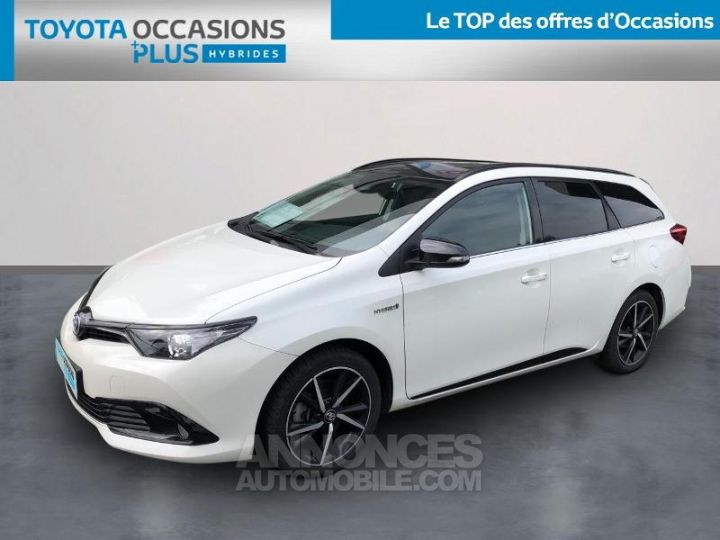 Toyota AURIS TOURING SPORTS HSD 136h Collection BLANC NACRE Occasion - 1