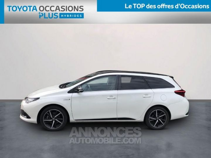 Toyota AURIS TOURING SPORTS HSD 136h Collection BLANC NACRE Occasion - 3