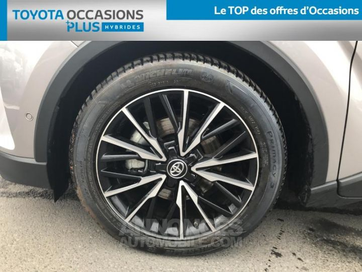 Toyota C-HR 122h Collection 2WD E-CVT RC18 BI TON GRIS PLATINIUM Occasion - 4