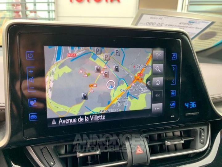 Toyota C-HR 122h Distinctive 2WD E-CVT ROUGE ALLURE Occasion - 12
