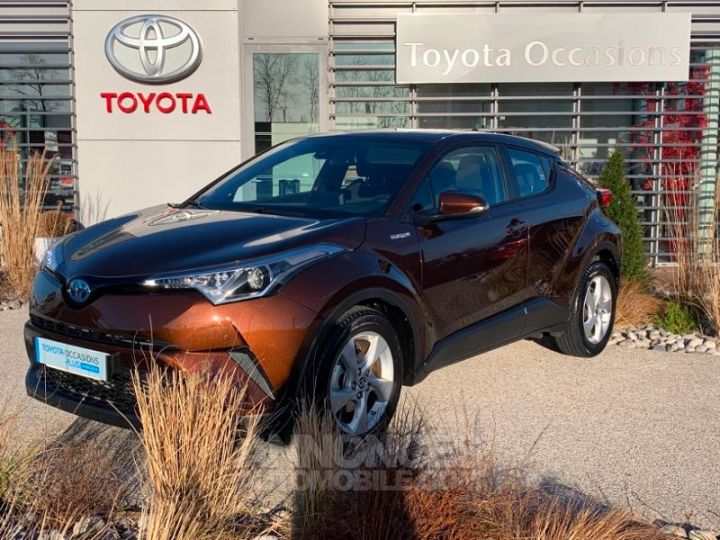 Toyota C-HR 122h Dynamic 2WD E-CVT MARRON Occasion - 1