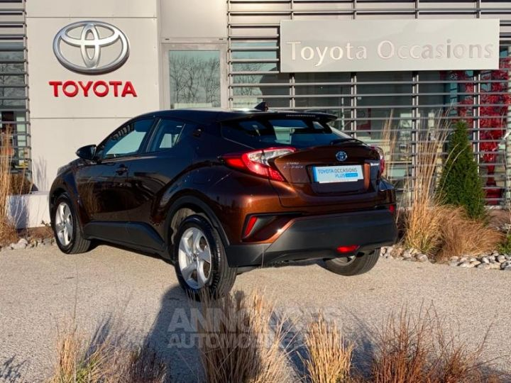 Toyota C-HR 122h Dynamic 2WD E-CVT MARRON Occasion - 3