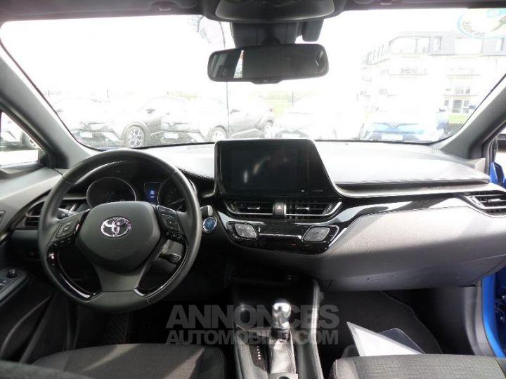Toyota C-HR 122h Dynamic 2WD E-CVT BLEU NEBULA Occasion - 5