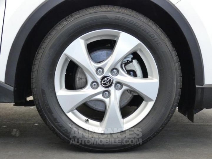 Toyota C-HR 122h Dynamic 2WD E-CVT BLANC Occasion - 10