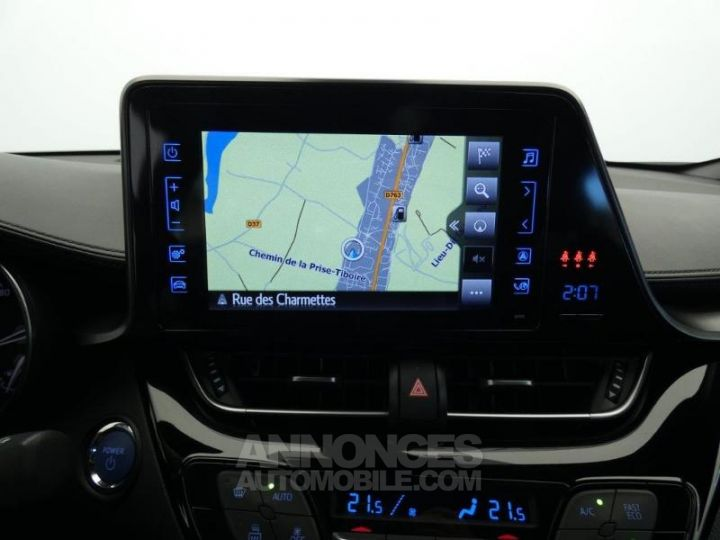 Toyota C-HR 122h Dynamic Business 2WD E-CVT GRIS ALUMINUM Occasion - 13