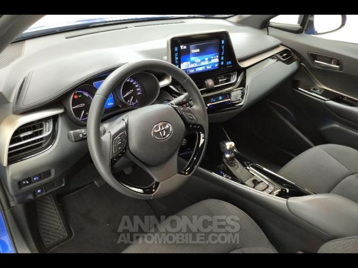 Toyota C-HR 122h Edition 2WD E-CVT RC18 BLEU NEBULA Occasion - 7