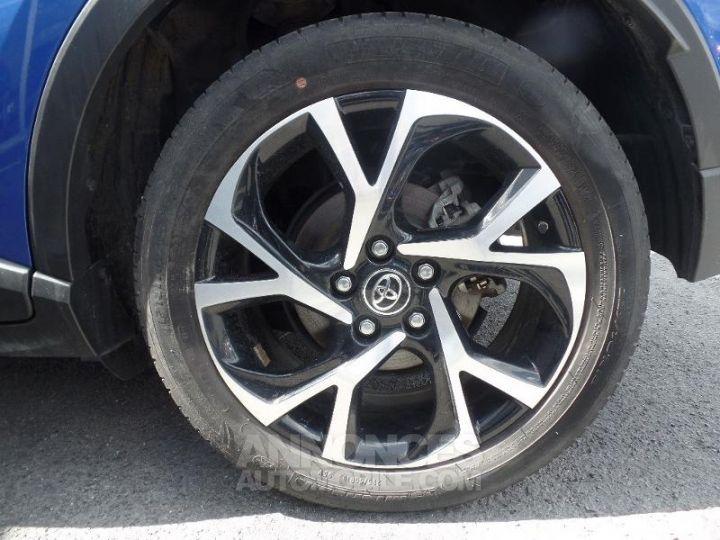 Toyota C-HR 122h Graphic 2WD E-CVT BLEU F Occasion - 11