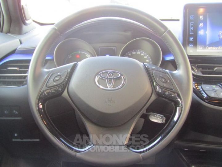 Toyota C-HR 122h Graphic 2WD E-CVT GRIS PLATINE Occasion - 12