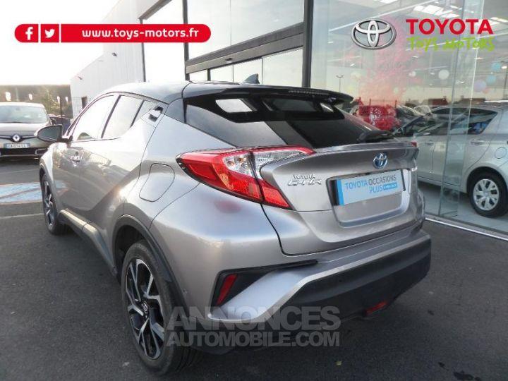 Toyota C-HR 122h Graphic 2WD E-CVT Gris bi-ton NOIR Occasion - 4