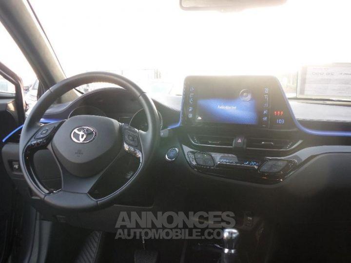 Toyota C-HR 122h Graphic 2WD E-CVT Gris bi-ton NOIR Occasion - 5