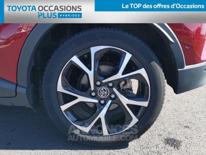 Toyota C-HR 122h Graphic 2WD E-CVT ROUGE ALLURE Occasion - 4