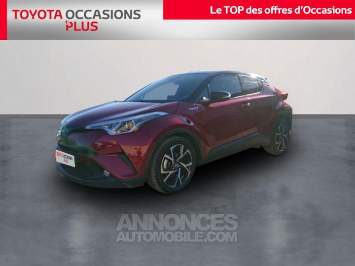 Toyota C-HR 122h Graphic 2WD E-CVT ROUGE Occasion - 1