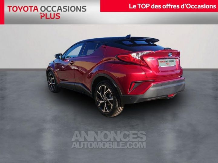 Toyota C-HR 122h Graphic 2WD E-CVT ROUGE Occasion - 2