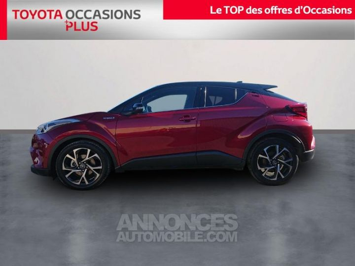 Toyota C-HR 122h Graphic 2WD E-CVT ROUGE Occasion - 3