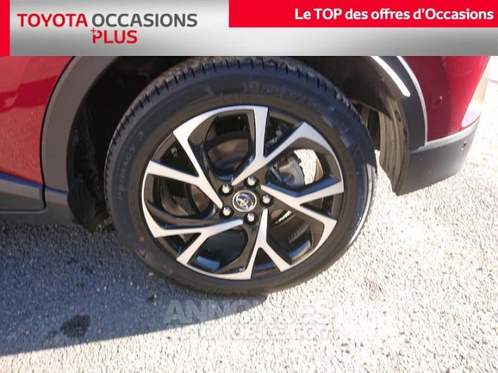 Toyota C-HR 122h Graphic 2WD E-CVT ROUGE Occasion - 4