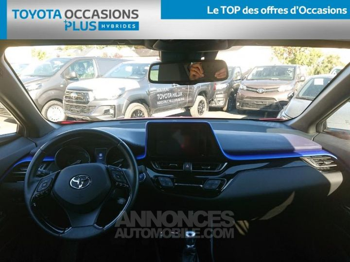 Toyota C-HR 122h Graphic 2WD E-CVT ROUGE Occasion - 5