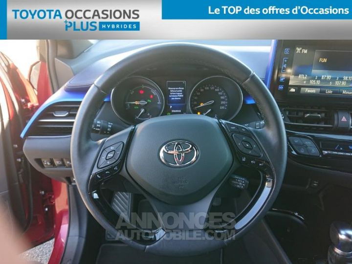 Toyota C-HR 122h Graphic 2WD E-CVT ROUGE Occasion - 6