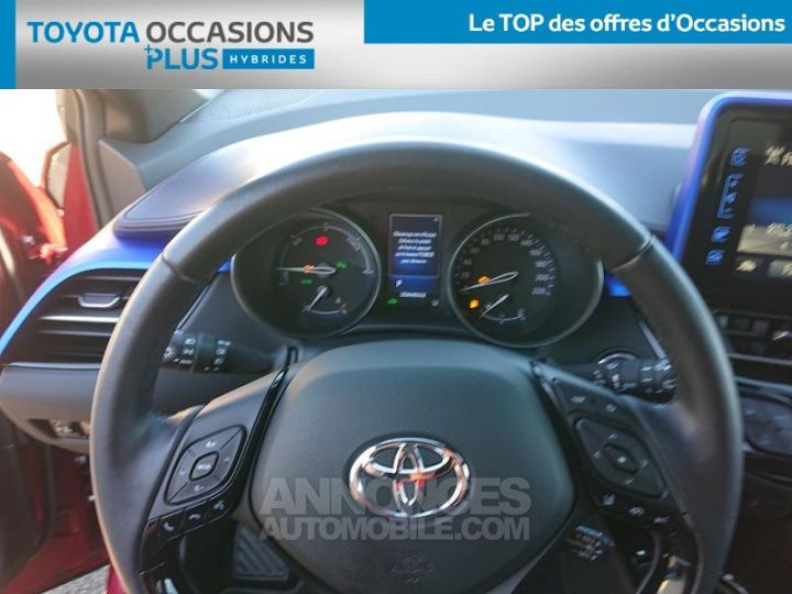 Toyota C-HR 122h Graphic 2WD E-CVT ROUGE Occasion - 8