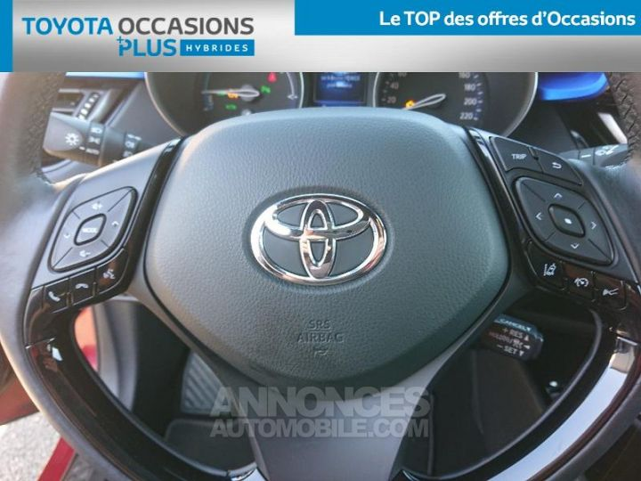 Toyota C-HR 122h Graphic 2WD E-CVT ROUGE Occasion - 10