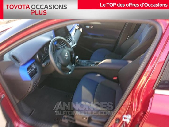 Toyota C-HR 122h Graphic 2WD E-CVT ROUGE Occasion - 13