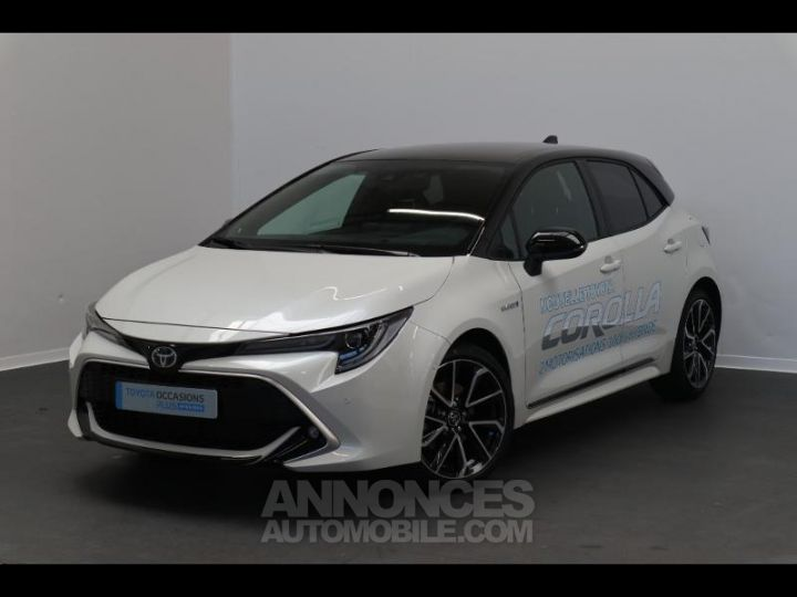 Toyota COROLLA 180h Collection BI TON BLANC NACRE   NOIR Occasion - 1
