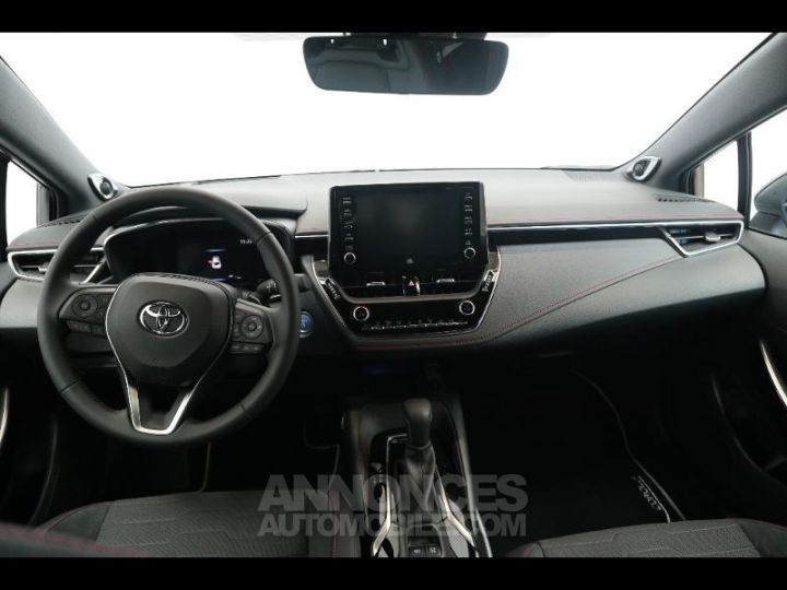 Toyota COROLLA 180h Collection BI TON BLANC NACRE   NOIR Occasion - 7