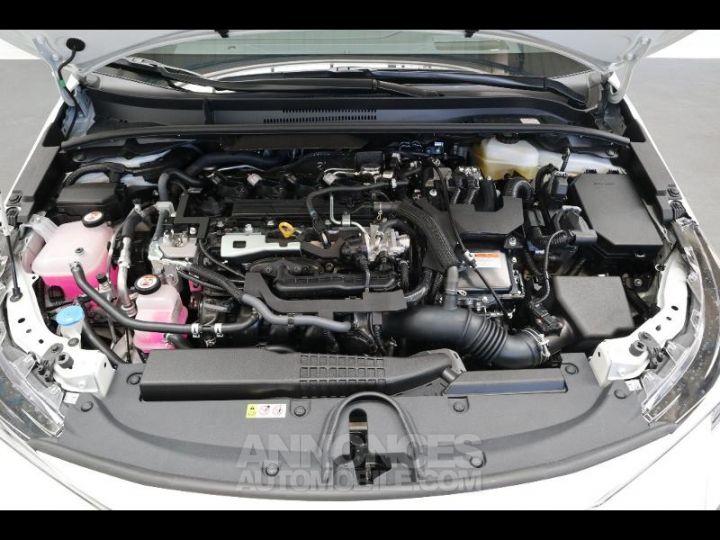 Toyota COROLLA 180h Collection BI TON BLANC NACRE   NOIR Occasion - 17
