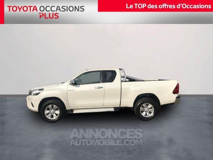 Toyota HILUX 144 D-4D X-Tra Cabine L BLANC Occasion - 3