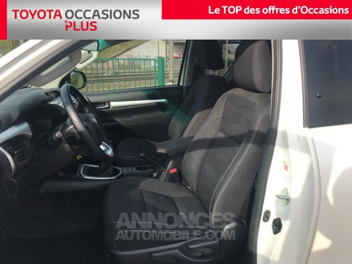 Toyota HILUX 144 D-4D X-Tra Cabine L BLANC Occasion - 13