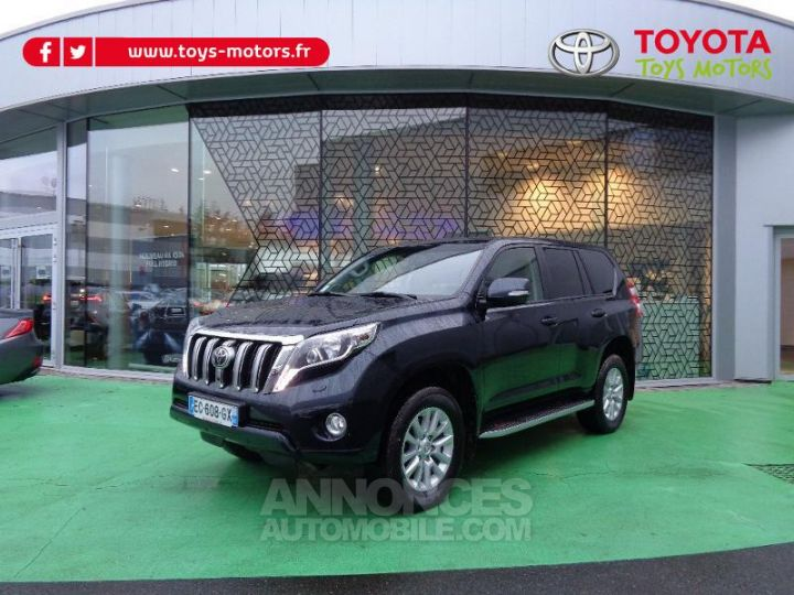 Toyota LAND CRUISER 177 D-4D FAP Lounge Pack Techno BVA GRIS ABYSSE Occasion - 1