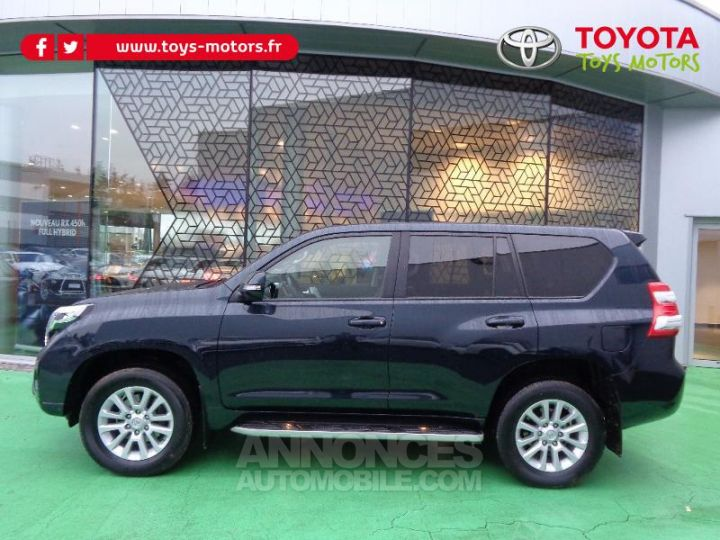 Toyota LAND CRUISER 177 D-4D FAP Lounge Pack Techno BVA GRIS ABYSSE Occasion - 2