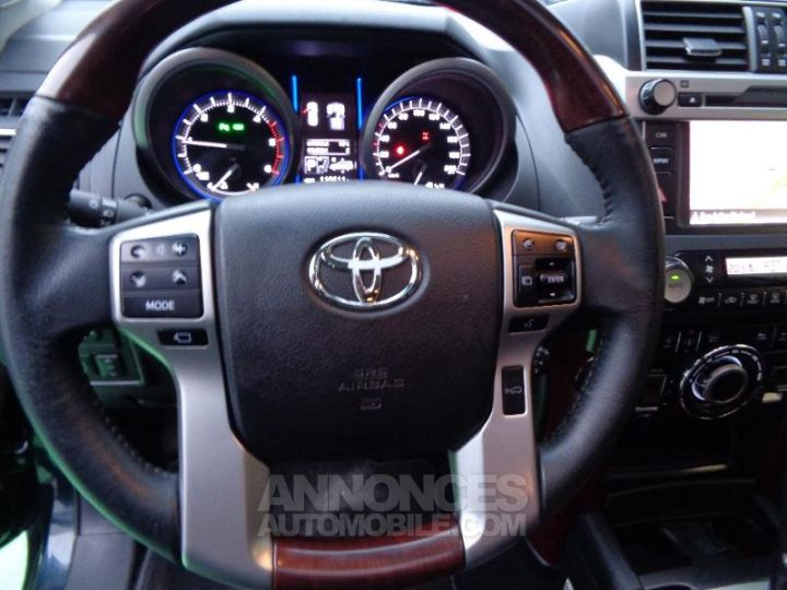 Toyota LAND CRUISER 177 D-4D FAP Lounge Pack Techno BVA GRIS ABYSSE Occasion - 18