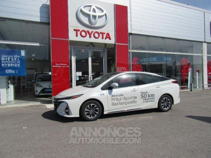 Toyota PRIUS 122h BLANC NACRE Occasion - 5