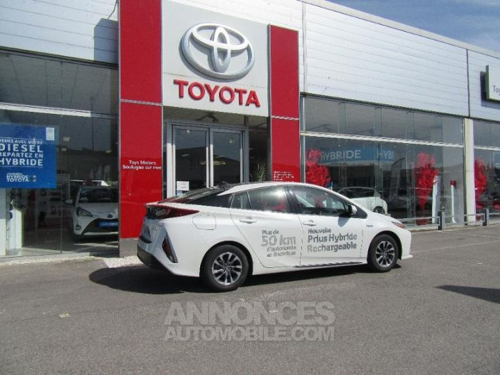 Toyota PRIUS 122h BLANC NACRE Occasion - 7
