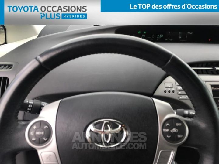 Toyota PRIUS 136h Lounge BLANC NACRE Occasion - 14